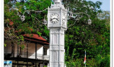Seychelles, Clock Tower - Mahe Island