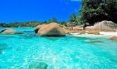 Seychelles, beach Mahe Island