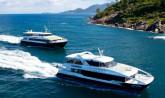 Seychelles, fast boats