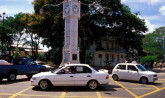 Seychelles, Clock Tower - Victoria